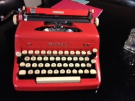 Red Royal Typewriter