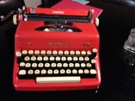 Red Royal Typewriter